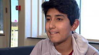 Wesal Jamal er en af de cirka 60 elever på sjetteklasse-niveau, der er med i pilotprojektet.