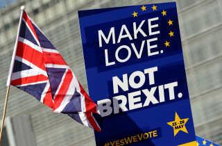 Ja til kærlighed, nej til brexit (arkivfoto).
