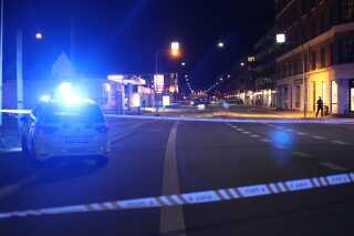 Området i Nordvest er blevet afspærret af politiet.