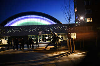 Pladsen foran K.B Hallen er redesignet af landskabsarkitekt Marianne Levinsen.