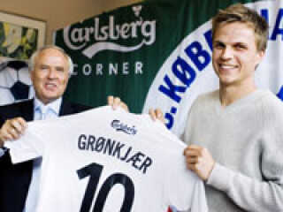 Jesper Grønkjær kommer til at spille med nummer 10 på ryggen i FCK.