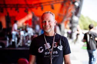 Thomas Andersen. 49 år. Stage Manager på Orange scene siden 2000