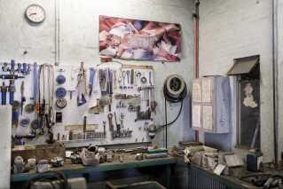 På trods af planer om at lave kursussted og makerspace, så er det vigtigt for de tre ejere, at Fabrikken beholder sit oprindelige præg.