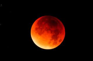 Blodmånen er et bjergtagende syn.