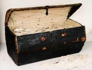 Den hollandske postmesters kiste.