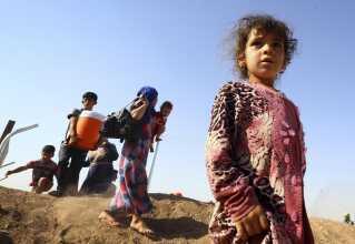 Tusinder af borgere flygtede fra Mosul, da IS rykkede ind i 2014.