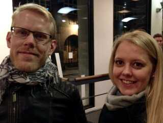 """""""Det var en sjov oplevelse, men vi snakkede lige om, at vi godt kan forstå, det ikke blev et hit dengang"""", siger Trine Petersen der havde været inde og se filmen sammen med sin bror Niels Petersen."""