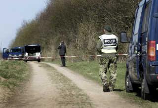 Ægteparret blev myrdet her i Tusindårsskoven i Odense. (Arkivfoto: Sonny Munk Carlsen/Scanpix 2011)