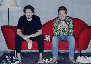Frederik Dirks Gottlieb (t.v.) og Kasper Lundberg fra  'Binge'.