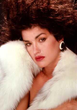 Op gennem 70'erne og 80'erne var Janice Dickinson en af verdens mest populære topmodeller. Her ses hun i 1986.