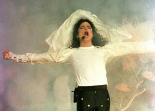 Michael Jackson var den store stjerne ved Super Bowl i 1993.