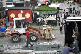Christianitterne ryddede Pusher Street 2. september 2016.