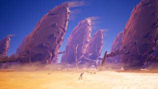 I 'Planet Alpha' indtager du rollen som en ensom figur, der er strandet i en fremmed verden.