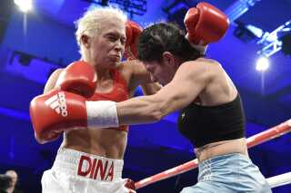 Dina Thorlsund vokser VM-kamp på lørdag.