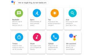 .Et udsnit af de ting Google Assistent kan hjælpe med.
