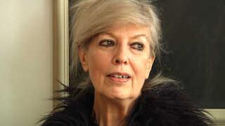 Suzanne Brøgger har skrevet teksten til en ny salme, som bliver præsenteret på P1 juleaftensdag. Foto: TV-P