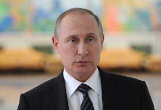 Ruslands præsident  Vladimir Putin.
