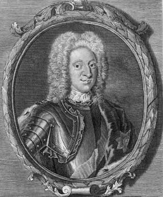 Portræt af kong Christian den Sjette.