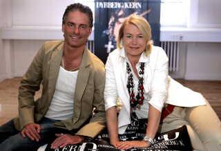 Gitte Dyrberg og Henning Kern i årene inden finanskrisen for alvor ramte.