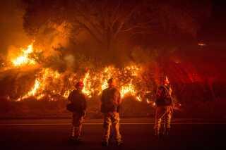 Ved byen Mariposa i Californien kæmper brandfolk med en meget voldsom skovbrand på hele 26 kvadratkilometer. Antallet af skovbrande vil tage til i takt med klimaforandringerne, og de brændende træer bidrager til det stigende CO2-niveau.