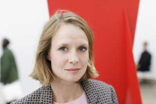 Amalie Jakobsen har i denne weekend sine værker med på Chart Art Fair på Kunsthal Charlottenborg