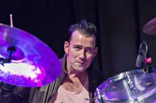 Trommeslager Laust Sonne i 2012.