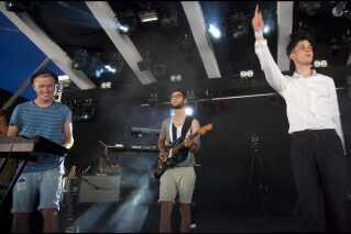 Vinnie Who på Roskilde mandag 29. juni 2009. Dengang hed 'Campingscenen' Pavillion Junior.