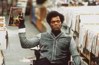 Samuel L. Jackson i filmen 'Unbreakable' fra 2000, hvor han spillede rollen som Elijah Price.