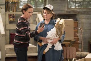 'Roseanne' blev blandt andet rost af præsident Trump efter premieredagen.