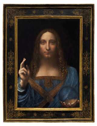 'Salvator Mundi' er dateret tilbage til omkring 1500 og er eftersigende det sidste privatejede Leonardo da Vinci-maleri.