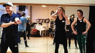 Sammen med mange andre var Nina Maria Schjødt Lybæk-Hansen og Joakim Lind Tranberg til audition på musicalen Seebach.