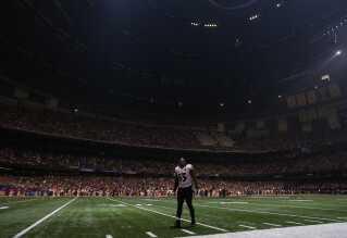 Pludselig slukkede lyset på stadion i 2013.
