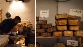 Lasse David Povlsen der bager brød