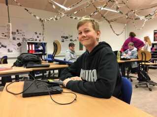 Computerspil har fået Frederik Mallings engelsk på så højt niveau, at han har deltaget i en talentcamp og lært debatkultur på engelsk.