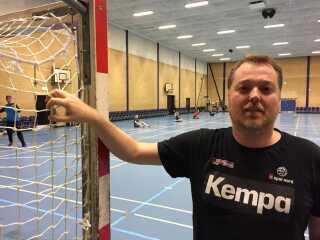 Søren Riis var ungdomstræner for Line Haugsted, da hun var U14- og U16-spiller i Skive FH.