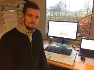 Systematiske aflæsninger kan ifølge energimanager Kristian Rønnest gøre det nemmere for institutionerne at stræbe efter nye mål.