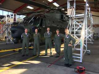 Besætningen på redningshelikopteren i Skrydstryp i Sønderjylland har haft rigtig travlt denne sommer.