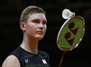 Den danske badminton-spiller Viktor Axelsen er ret god til kinesisk, hvilket han demonstrerede i denne video på dr.dk.