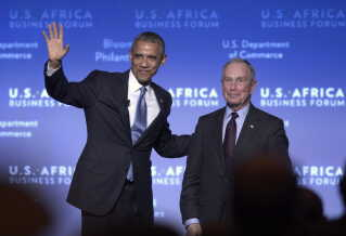 Under det seneste præsidentvalg bakkede den partiløse Michael Bloomberg op om Demokraternes Barack Obama.