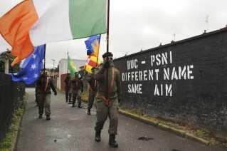 Det nordirske separatistparti Sinn Féin.