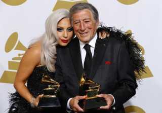Lady Gaga bevægede sig i en helt ny retning i 2014, da hun sammen med den i dag 92-årige crooner Tony Bennett udgav jazz-albummet 'Cheek To Cheek', som de vandt en Grammy for. I 2015 optrådte de sammen i Tivoli i København.