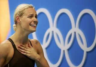 Svømmeren Pernille Blume har netop vundet guld I OL. Nyheden blev en af de mest læste på dr.dk.