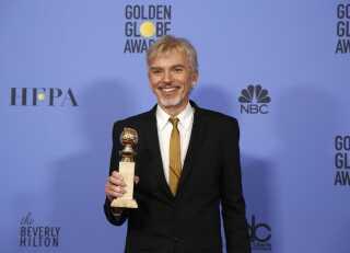 Billy Bob Thornton med prisen for bedste skuespiller i en dramaserie.