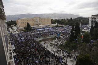 Det vurderes, at omkring 60.000 mennesker deltog i dagens demonstration.