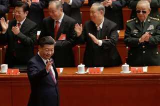 Den kinesiske præsident Xi Jinping ankommer til partikongressen.