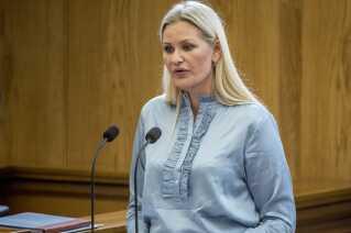 Britt Bager (V) under folketingets åbningsdebat i folketingssalen på Christiansborg, torsdag den 4. oktober 2018.
