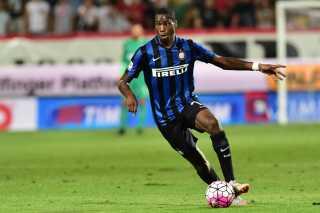 Geoffrey Kondogbia er ny mand i Inter, hvor han skal indtage en rolle på midtbanen.
