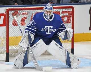 Frederik Andersen en sikker sidste skanse for Toronto.