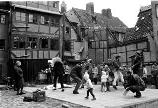 Sofiegården blev et festligt og kulturelt samlingspunkt i København fra 1965 til 1969.