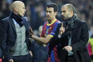 Ståle Solbakken i krig med Josep Guardiola på sidelinjen i Parken.